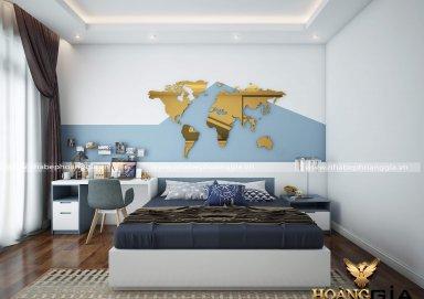 Mẫu thiết kế phòng ngủ phong cách hiện đại PNHD 17