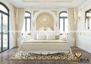 Mẫu thiết kế nội thất phòng ngủ tân cổ điển TCĐ 40