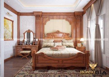 Mẫu thiết kế nội thất phòng ngủ tân cổ điển TCĐ 42