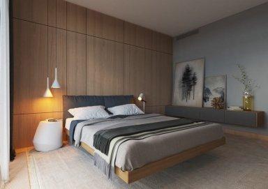 Ý tưởng thiết kế nội thất phòng ngủ theo phong cách tối giản Minimalist