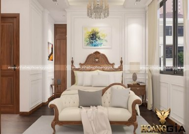 Mẫu thiết kế nội thất tân cổ điển đẹp cho chung cư cao cấp