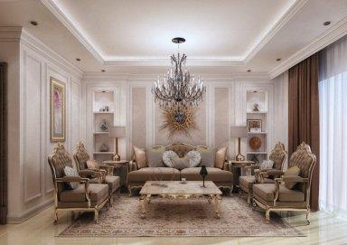 Mẫu thiết kế nội thất tân cổ điển nhẹ nhàng đơn giản