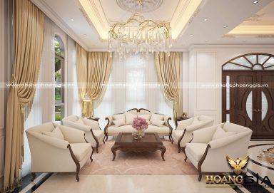 Tư vấn thiết kế nội thất tân cổ điển Châu Âu thanh lịch đầy tinh tế