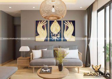 Mẫu thiết kế phòng khách hiện đại cho nhà chung cư đầy ấn tượng