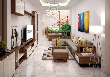 Lôi cuốn với các mẫu thiết kế phòng khách nhà ống 4m hiện đại