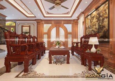 Phòng khách Tân Cổ Điển PKTCD 16