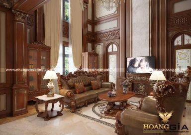 Bật mí cách thiết kế phòng khách trần cao đầy ấn tượng