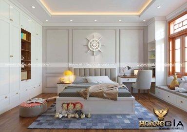 Thiết kế phòng ngủ bé trai theo phong cách hiện đại trẻ trung đầy năng động