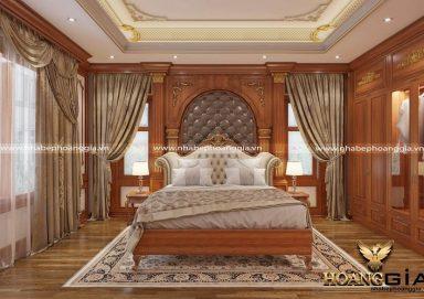 Sức hút đầy mê hoặc của các mẫu thiết kế phòng ngủ biệt thự tân cổ điển 2020