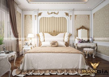 Nét đẹp kiêu sa của mẫu phòng ngủ phong cách tân cổ điển Luxury