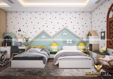 Mẫu thiết kế phòng ngủ trẻ em hiện đại PNHD 20