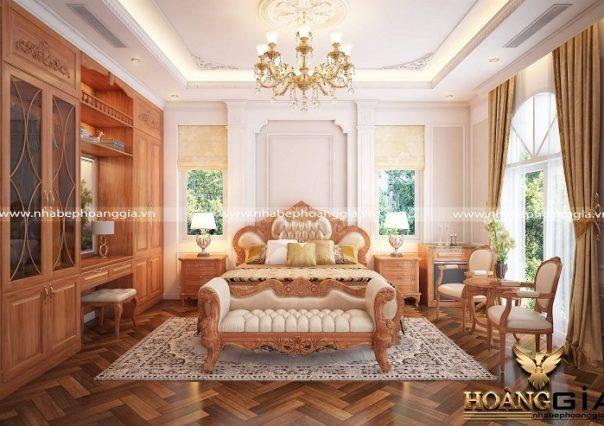 Dự án thiết kế thi công nội thất tân cổ điển nhà anh Kha (Quảng Ngãi)