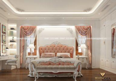 Mẫu thiết kế phòng ngủ tân cổ điển thanh lịch đầy tinh tế