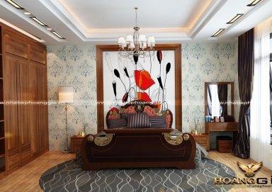 Mẫu thiết kế phòng ngủ tân cổ điển PNTCD 01