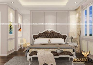Mẫu thiết kế phòng ngủ phong cách tân cổ điển PNTCD 07