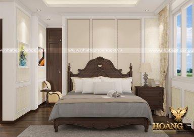 Mẫu thiết kế phòng ngủ tân cổ điển PNTCD 08