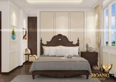 Mẫu phòng ngủ nội thất tân cổ điển PNTCD 08