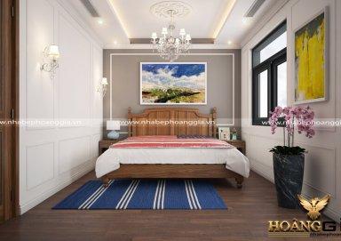 Mẫu thiết kế phòng ngủ tân cổ điển PNTCD 10