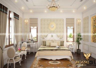 Mẫu thiết kế phòng ngủ tân cổ điển PNTCD 11