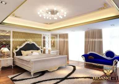 Mẫu thiết kế phòng ngủ phong cách  tân cổ điển PNTCD 16