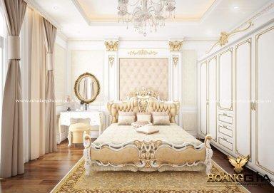 Mẫu thiết kế phòng ngủ tân cổ điển PNTCD 17
