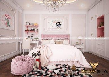 Mẫu thiết kế phòng ngủ tân cổ điển PNTCD 19
