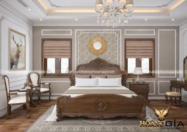 Mẫu thiết kế phòng ngủ tân cổ điển PNTCD 20