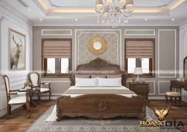 Mẫu thiết kế phòng ngủ đẹp phong cách tân cổ điển PNTCD 20