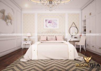 Mẫu thiết kế phòng ngủ tân cổ điển PNTCD 21
