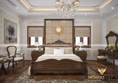Mẫu thiết kế phòng ngủ tân cổ điển PNTCD 22