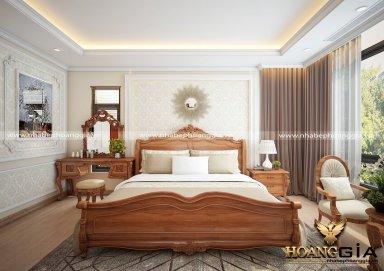 Mẫu thiết kế phòng ngủ tân cổ điển PNTCD 23
