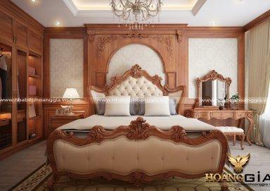 Mẫu thiết kế phòng ngủ đẹp tân cổ điển PNTCD 24