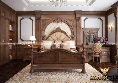 Mẫu phòng ngủ phong cách tân cổ điển PNTCD 25