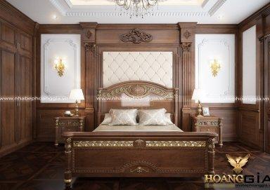Mẫu phòng ngủ đẹp phong cách tân cổ điển PNTCD 26