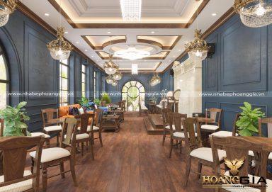Mẫu thiết kế nội thất nhà hàng sang trọng đầy đẳng cấp