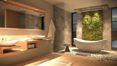 Tư vấn thiết kế spa mini tại nhà đơn giản và đầy thu hút