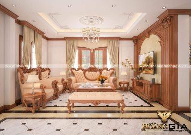 Dự án thiết kế thi công nội thất biệt thự nhà chị Hằng (Vinhomes Riverside, Hà Nội)