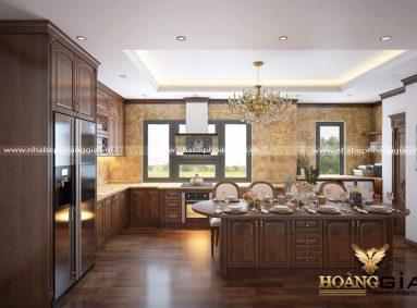 Đơn vị thiết kế thi công nội thất phòng bếp uy tín, chất lượng