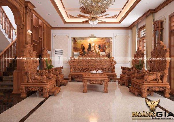 Dự án thiết kế và thi công nội thất nhà anh Thực (thành phố Tuyên Quang)