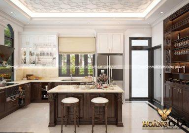 Địa chỉ thiết kế thi công tủ bếp tại Bắc Ninh chuyên nghiệp