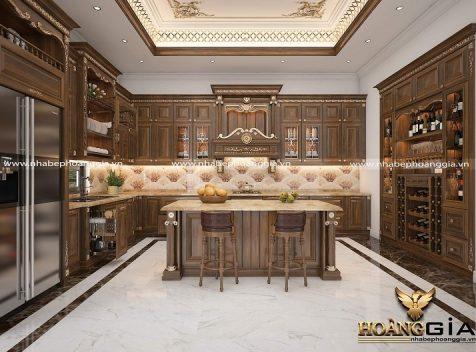 Đơn vị thiết kế thi công tủ bếp Hải Phòng uy tín, chuyên nghiệp