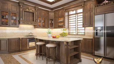 Thiết kế thi công tủ bếp tại Vĩnh Phúc uy tín, chuyên nghiệp