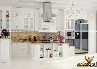 Tư vấn thiết kế tủ bếp đẹp hiện đại tiện nghi đầy ấn tượng