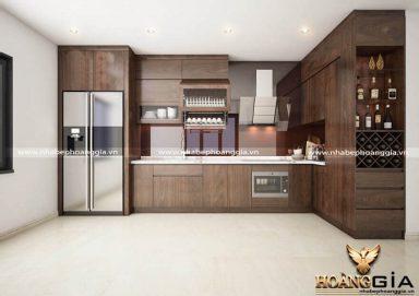 Tư vấn thiết kế tủ bếp gỗ tự nhiên hiện đại đẹp