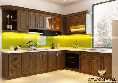 Tham khảo kinh nghiệm thiết kế tủ bếp nhà phố đẹp