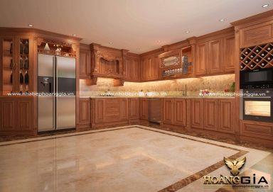 Khám phá các mẫu tủ bếp 2 tầng đẹp nhất 2020