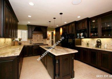 Mẫu tủ bếp Acrylic 08