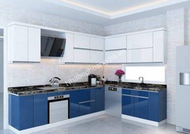 Mẫu tủ bếp Acrylic 10