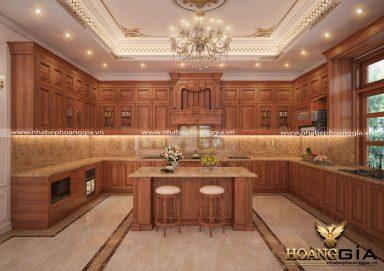 Thiết kế tủ bếp cho người mệnh Hỏa hợp phong thủy nhất