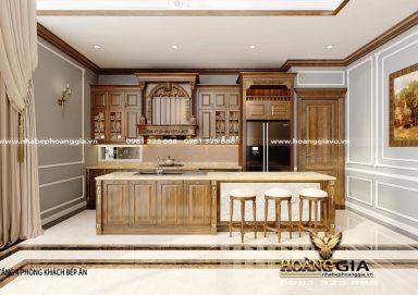 Ý tưởng thiết kế tủ bếp đẹp cho căn hộ penthouse sang trọng